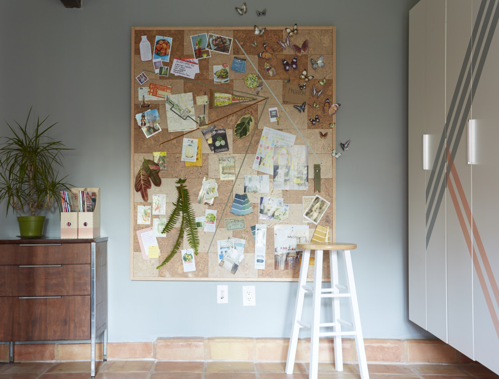 Office Update: New DIY Oversized Corkboard Project